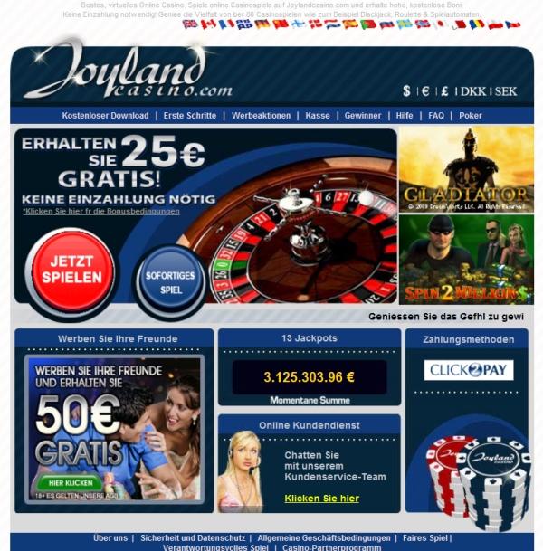joyland casino erfahrungen