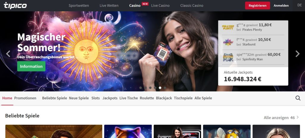 Tipico Online Casino Legal